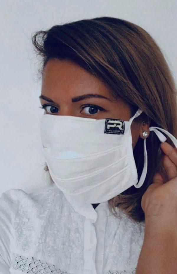 100% bombažna zaščitna maska
